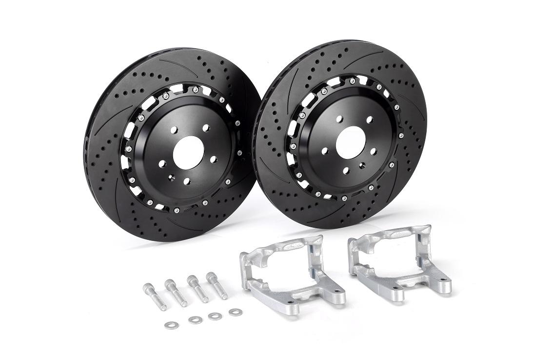 New rear brake disc upgrade kits